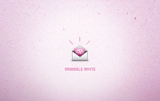 Dribbble invite shot by James Graves