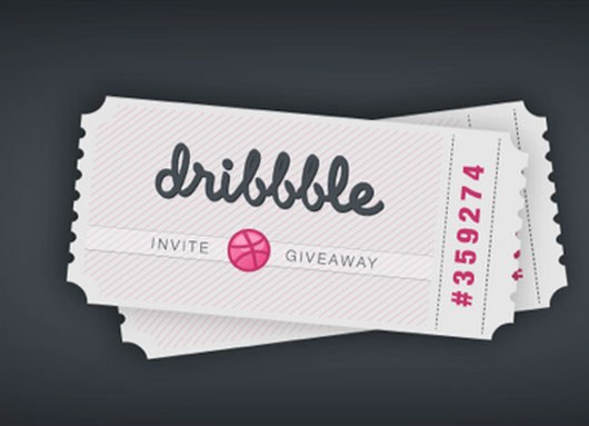 Dribbble invite shot by  Kim Wouters