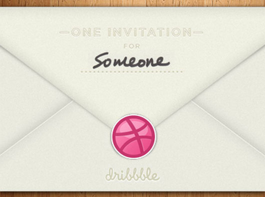 Dribbble invite shot by  Seth Terpstra