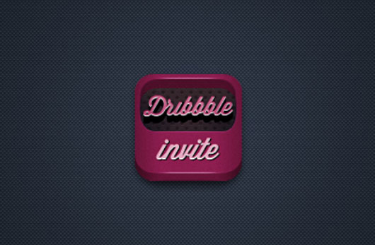 Dribbble invite shot by Vadim Sherbakov