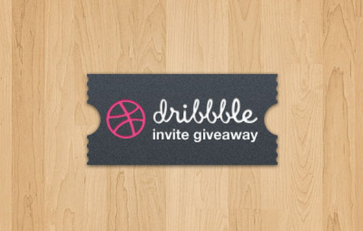 Dribbble invite shot by  polevaultweb