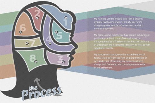 Sandra Wilcox - process steps section