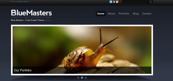 A Showcase of Amazing Drupal Themes
