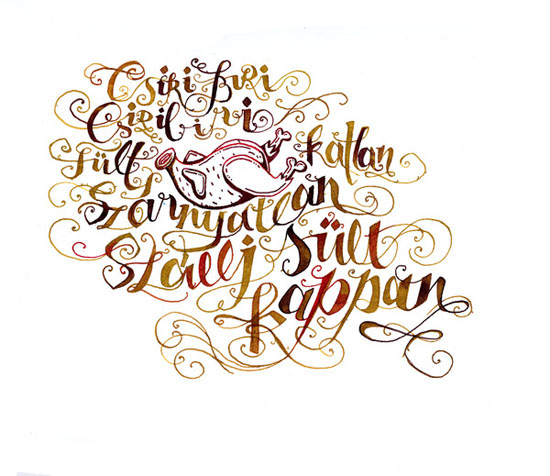 Typography Inspiration Calligraphic Masterpieces