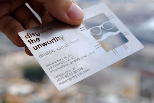 Unusual Business Card 13
