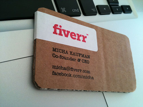 Unusual Business Card 26