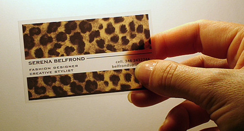 Unusual Business Card 35