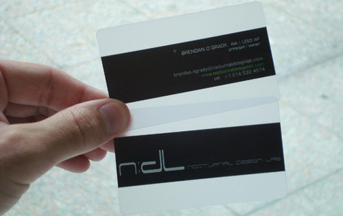 Unusual Business Card 7