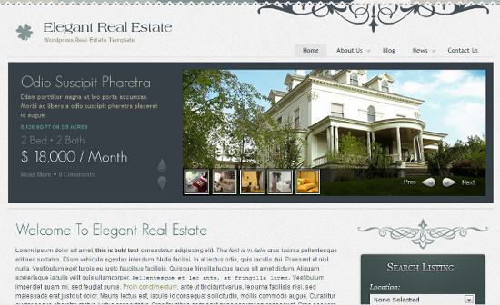 Elegant Real Estate