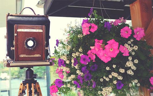 Una cámara con mucha historia