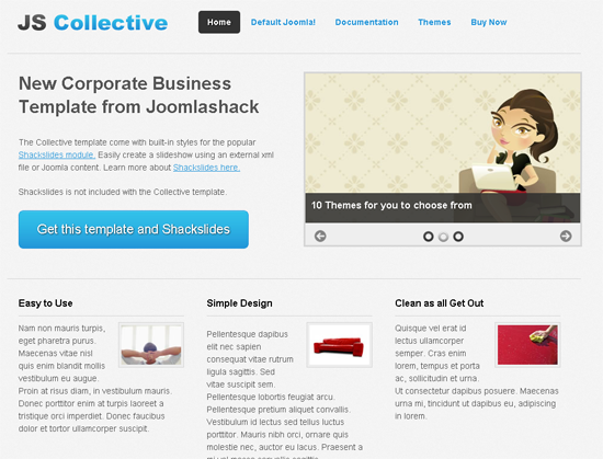 Collective Joomla Template