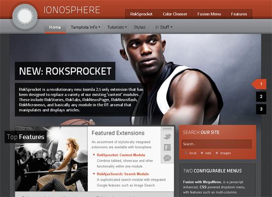 Ionosphere Joomla Template