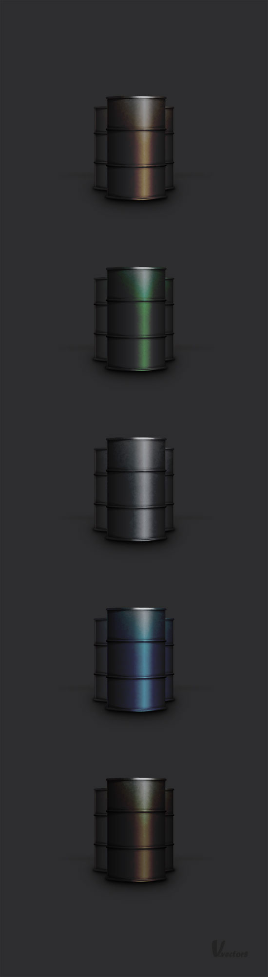 Adobe Illustrator Tutorial: Create a Semi-Realistic Oil Barrel Illustration