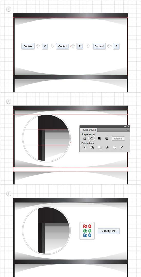 how to create semi circle in illustrator
