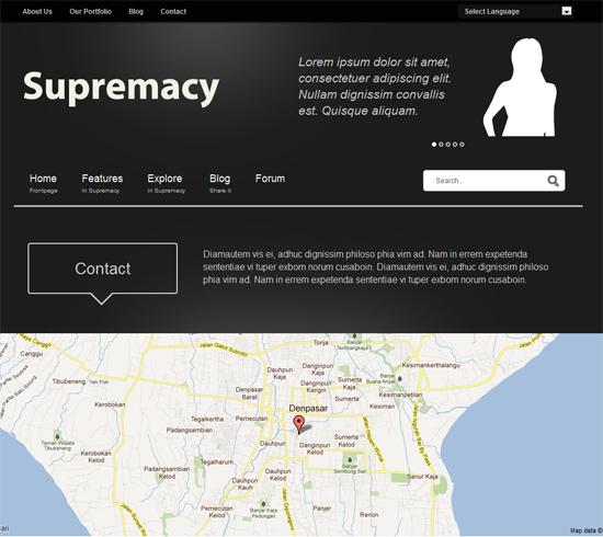 Supremacy Joomla Template