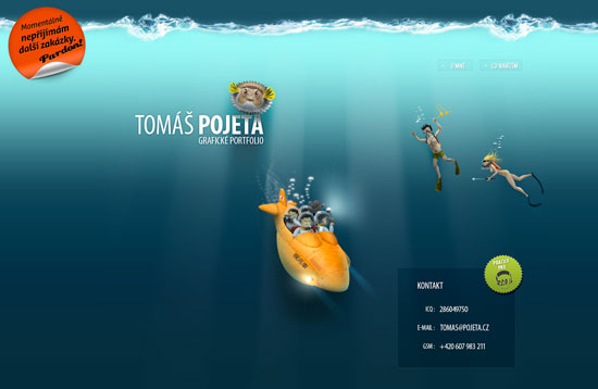 Websites of the Deep: A Showcase of Underwater Web Design