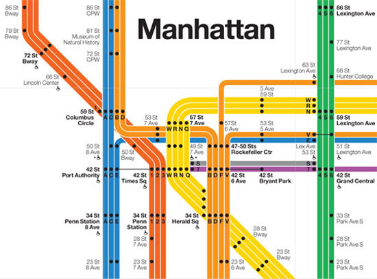 Massimo Vignelli Subway Map 1978.Massimo And Lella Vignelli Designsthat Will Outlive Mankind