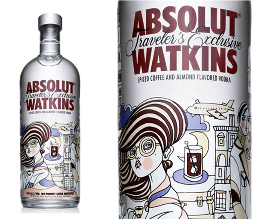 Absolut Watkins illustration