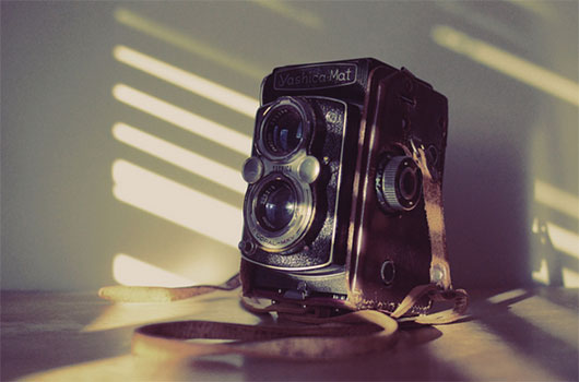 Dad's Old Camera - Yashica-Mat Copal-MXV