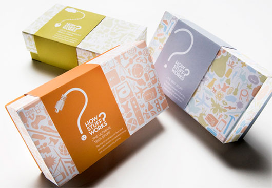 industrial makeover fully illustrated package designs