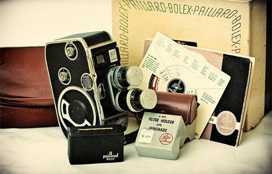 Paillard Bolex B8 Cine Camera