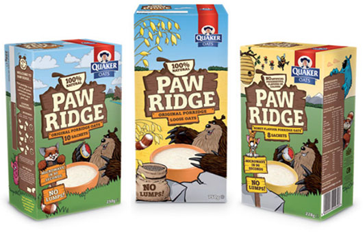 Paw Ridge illustration