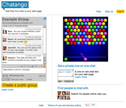 chatango website chat