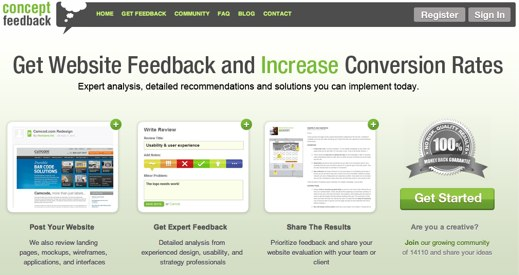 concept feedback