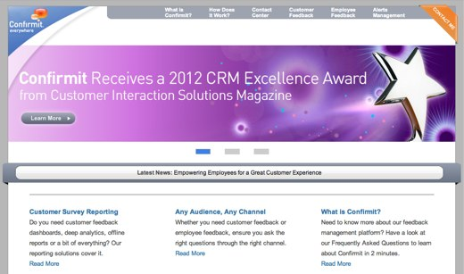 confirmit customer survey software
