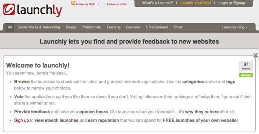 launchly feedback and analytics