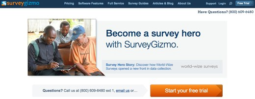 surveygizmo online survey software