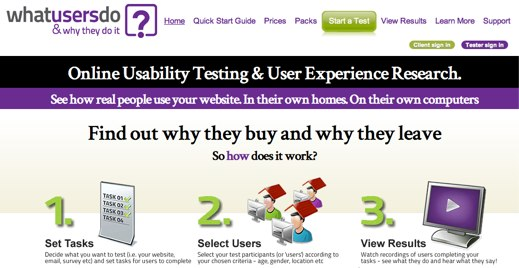 whatusersdo online usability testing