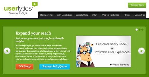 userlytics website usability testing