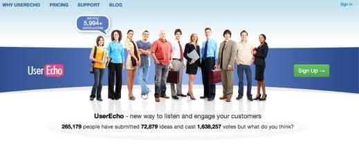 userecho feedback service