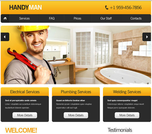 A New Collection Of Free Html5 And Css3 Templates Page 2: best home plans website