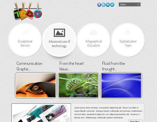 A New Collection of Free HTML5 and CSS3 Templates Page 2