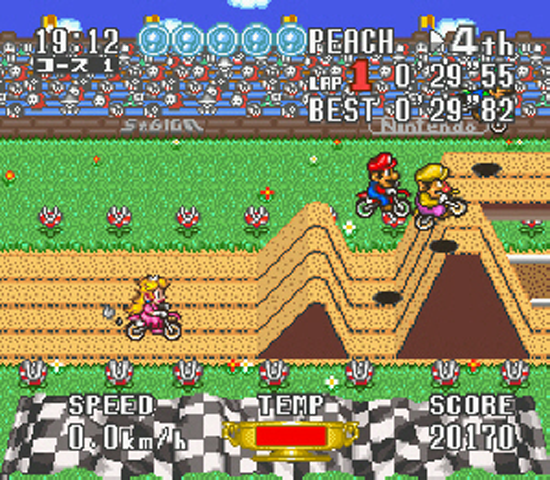 Mario Excite Bike