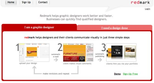 redmark design feedback