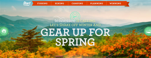 Sprintime Tennessee