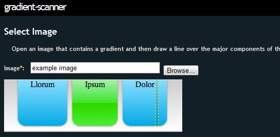 Gradient Scanner