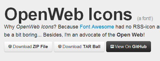 OpenWeb Icons