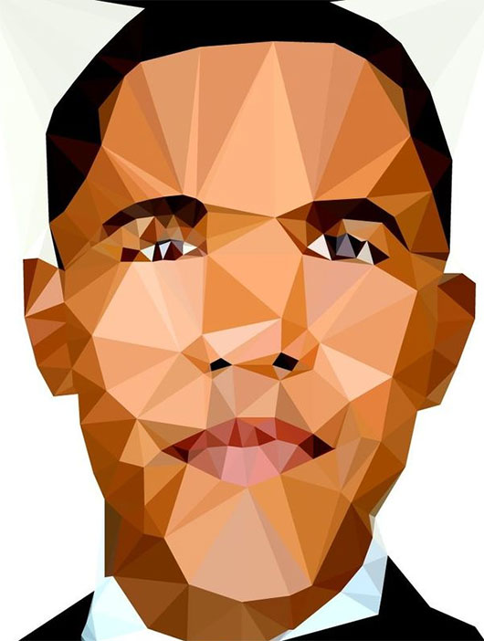 Polygonal Portraits by Feeldesain