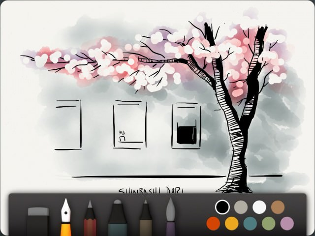 Paper for iPad: Intuitive Sketchbook for Creative