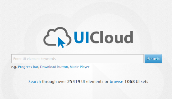 UICloud: Brand-New Free Resource Covers More Than 25,000 UI Elements