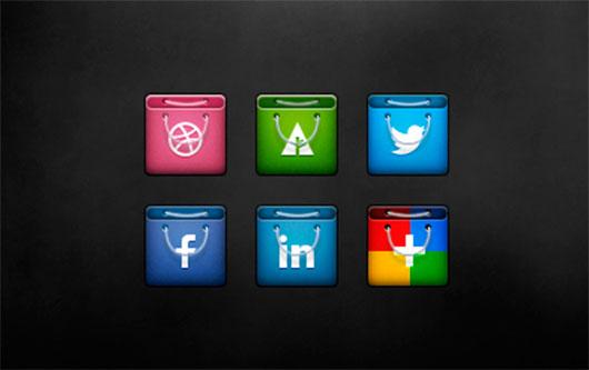 Social Bags by Michael Shanks