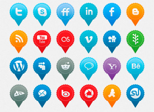 Social Media Icons by Hakan Ertan