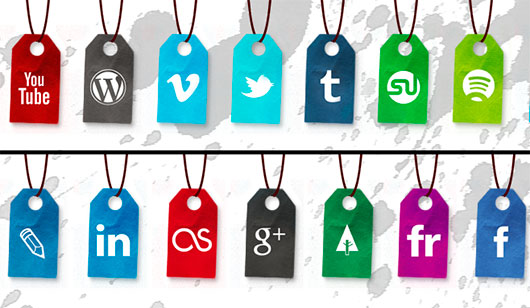 Social icon set by Nablo92