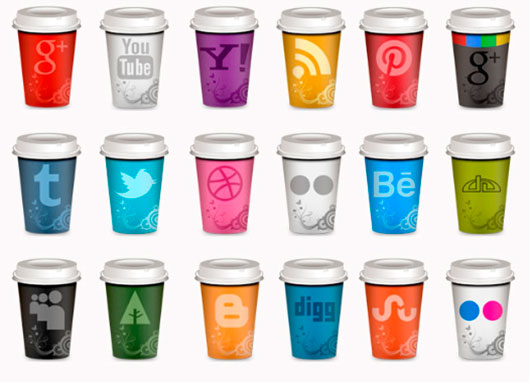 Takeout Coffee Social Cups