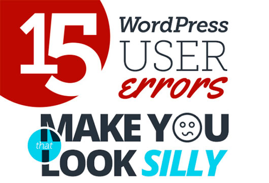 15 WordPress User Errors