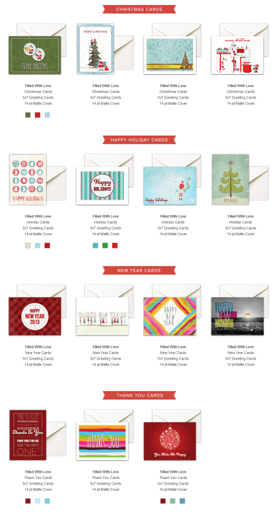 15 Heart-Warming Holiday Cards for Free By Day2Day Printing